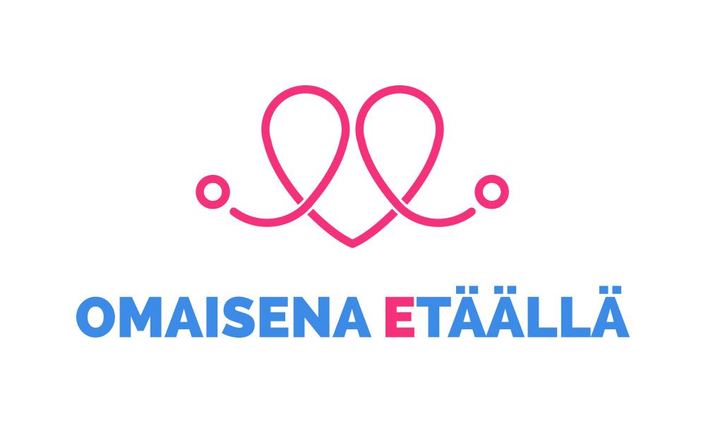 Omaisena etäällä logo