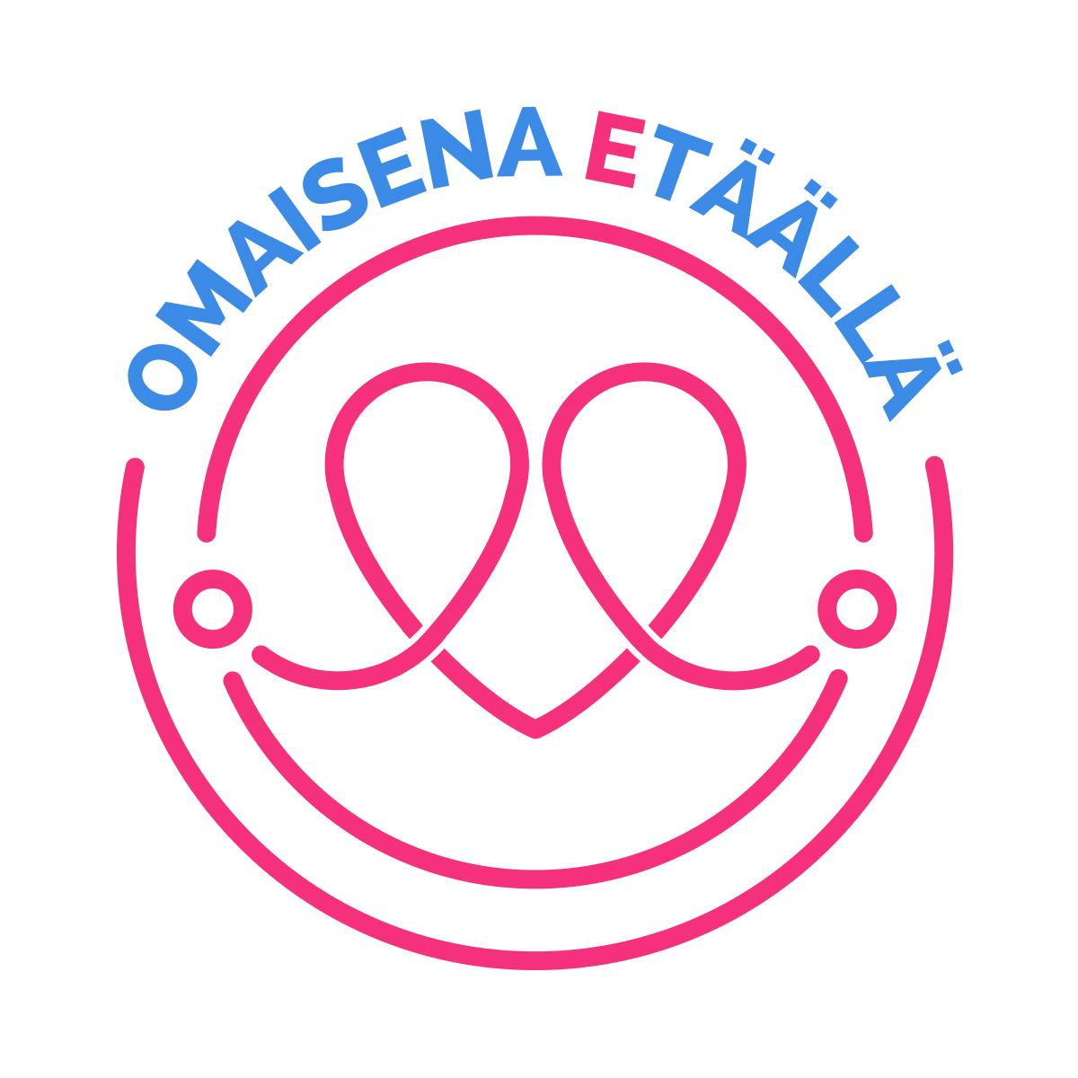 Omaisena etäällä -logo